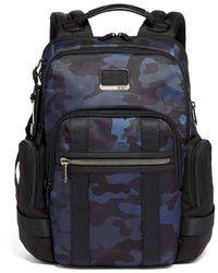 Tumi Backpack 135530 7105 Navy Camo - Blue