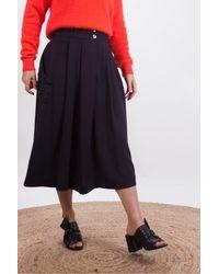 Bellerose Hostie Skirt With Pockets - Black
