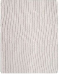 Paolo Pecora Other Materials Scarf - Grey