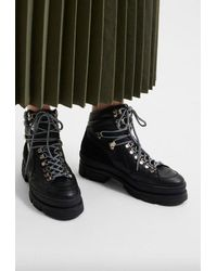 SELECTED Maya Hiking Boot - Black