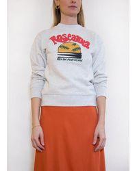 Roseanna Louis Sunset Sweatshirt - Grey