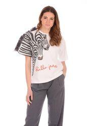 Stella Jean Tshirt Print - White