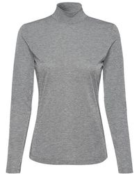 Riani Long Sleeved Sparkly Knit In 808845/8157 - Grey