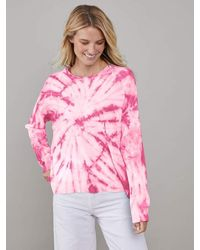 South Parade Susan Tie Dye Sweater - Pink