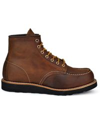 Red Wing 6-inch Classic Moc Boot Copper Rough & Tough - Brown