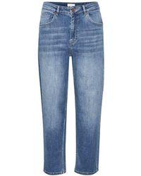 Part Two Hela Jeans In Light Denim 30305848 26 - Blue