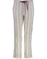 White Sand Marylin Pants - Off White / Sand - Multicolour