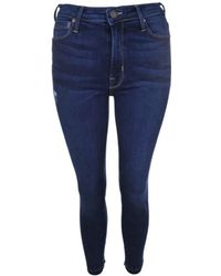 Parker Smith - Jeans Bombshell Crop In Willowbrook - Lyst