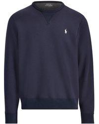 Ralph Lauren Crew Neck Sweatshirt , Colour:navy - Blue