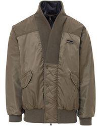 Li-ning Nylon Quilted Jacket - Green