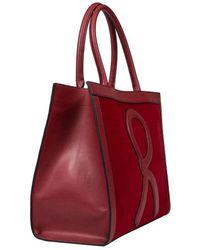 Roberta Di Camerino Borsa Shopping Large - Red