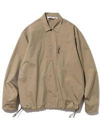 Uniform Bridge Pocket Easy Shirt Beige - Brown