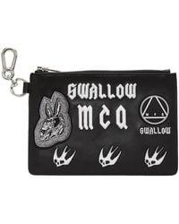 McQ Multi Patch Pouch   - Black
