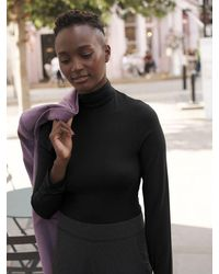 Nrby Ailish Jersey Body Top - Black