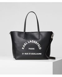 Karl Lagerfeld Rue St Guillaume Tote - Red