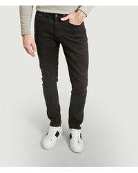 Samsøe & Samsøe Stefan Tinted Slim Fit Jeans Worn Samsoe - Samsoe - Black