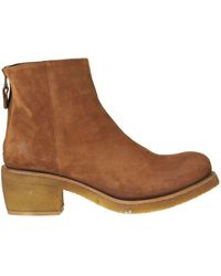 Punto Pigro Suede Ankle-boots - Brown