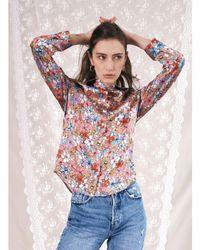 Jessica Russell Flint Slimline Shirt Iced S - Multicolour