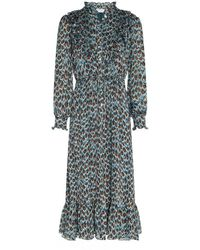 FABIENNE CHAPOT Fia Dress Peacock Party - Multicolour