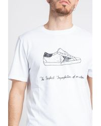 Golden Goose T-shirts And Polos - White