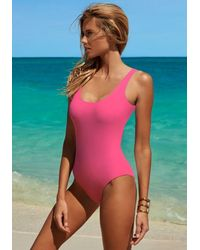 Melissa Odabash Croatia Swimsuit Flamingo - Pink