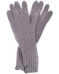 Burberry - Gloves In Grey - Lyst
