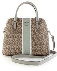 DKNY Bag In Brown - Grey