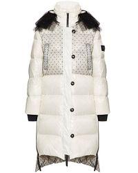 RED Valentino Coat Glossy - White