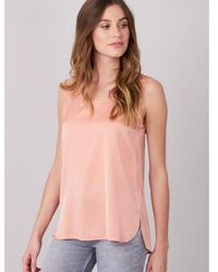 Repeat Cashmere Outlet Silk Camisole - Black