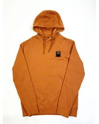 MA.STRUM Mastrum Overhead Hooded Sweatshirt - Orange