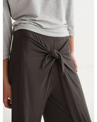 Nrby Evie Jersey Tie Front Trouser - Multicolour