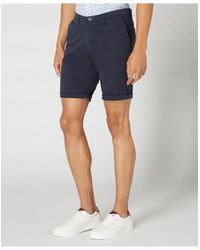 Remus Uomo Uomo Chino Shorts Navy - Blue