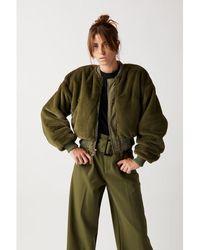WEILI ZHENG Bomber Jacket - Green