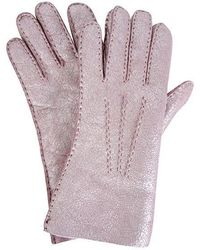 Gala Ladies Shimmer Shearling Gloves - Multicolour