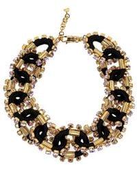 DSquared² Crystal Embellished Necklace - Black