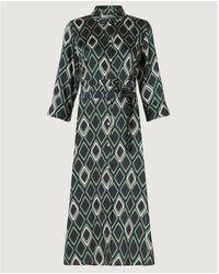 Marella Narrer Dress , Title:verde - Green