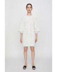 Just Female Create Dress Dot - White