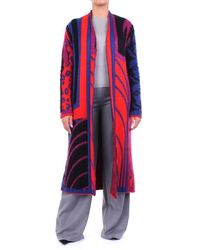 ACTUALEE Knitwear Cardigan Black Blue And Red