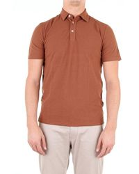 Altea - Polo Shirt Short Sleeves Men Cookie - Lyst