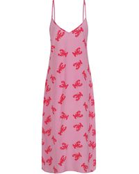 Mercy Delta Anthony Lobster Dress - Pink