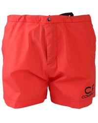 C.P. Company 06cmbw162a005076a547 Polyamide Trunks - Red