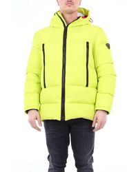 Rossignol Padded Down Jacket With Hood - Yellow