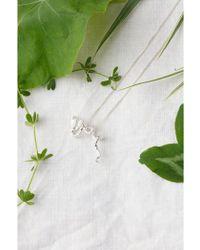Amanda Coleman Silver Snake Necklace - Metallic