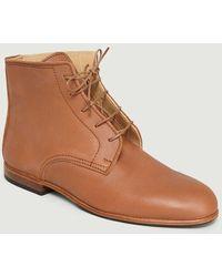 La Botte Gardiane Albert Boots Naturel - Brown