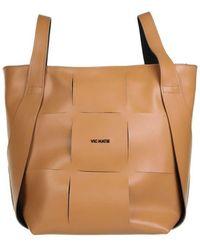 Vic Matié Bags.. Beige - White