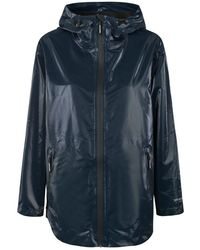Atterley Rain143 Raincoat - Dark Indigo - Blue