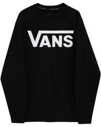 Vans Classic Crew Sweatshirt - /white - Black
