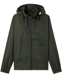 A.P.C. . Coupe Vent Miles Windbreaker Jacket - Green