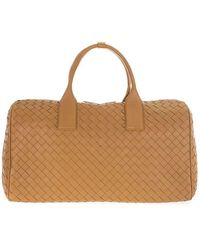 Bottega Veneta 630241vcrl27740 Leather Travel Bag - Orange