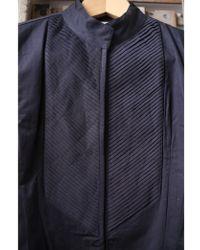 Mes Demoiselles - Wilde Black Pleated Cotton Jacket - Lyst